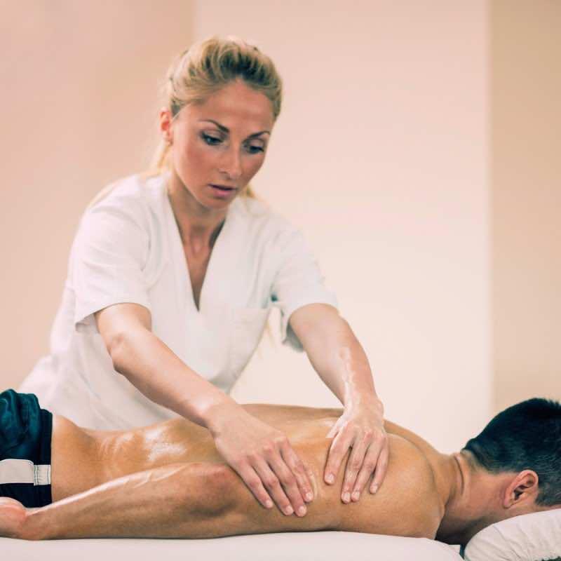 Sports Massage - Massaging Arms