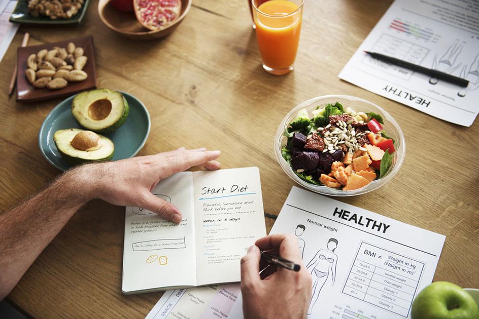 Lifestyle Diet Nutrition Concept