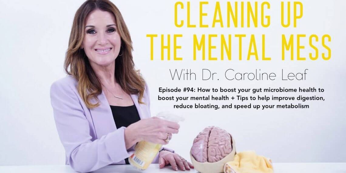 """""""HOW TO REPAIR & BOOST GUT MICROBIOME HEALTH TO BOOST MENTAL HEALTH"""" ~WADE LIGHTEART"""